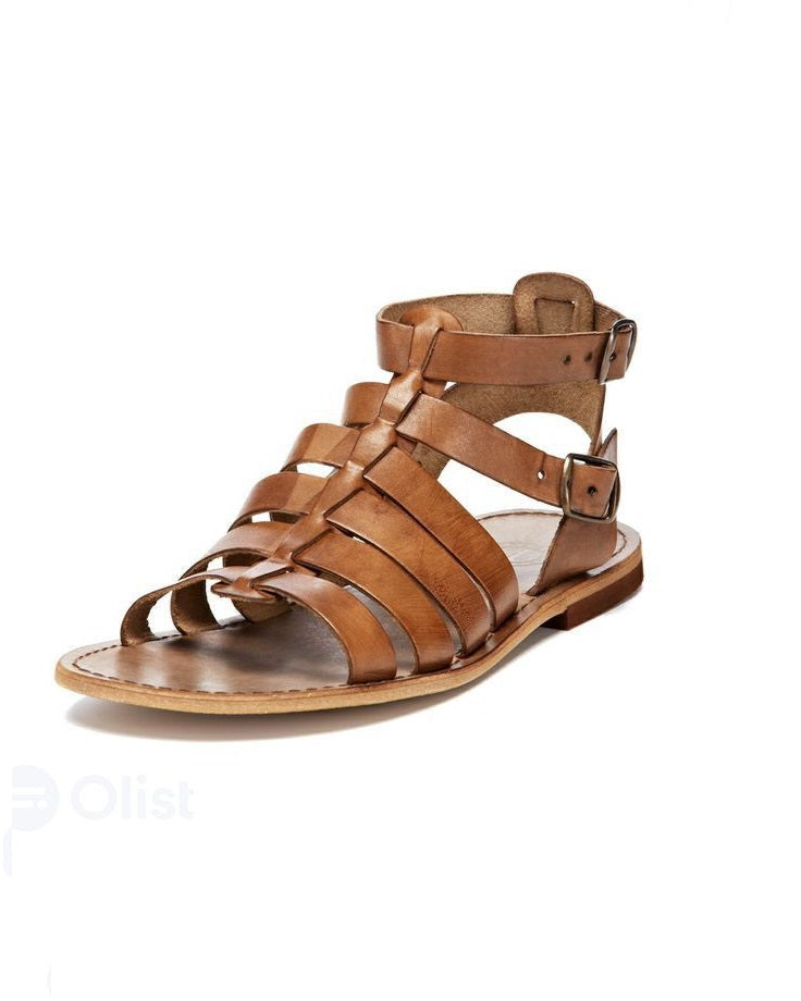 Governors African Rumble Gladiator Sandal - Brown