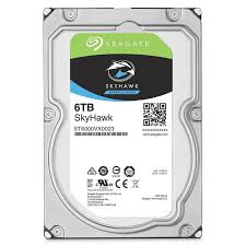 6TB Hard Disk SATA Surveillance (Seagate Skyhawk) - Security System Store