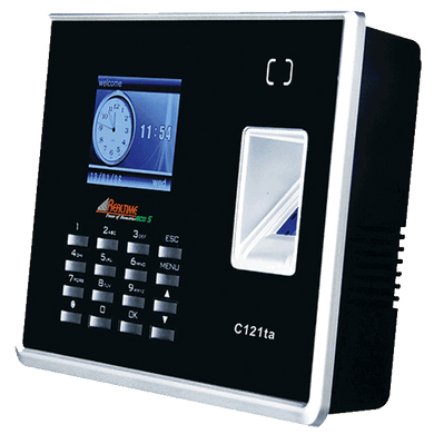 Realtime C121-ta Attendance Recorder With TCP/IP, Battery Back-Up - Security System Store