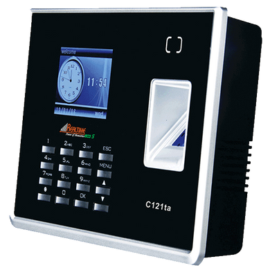 Realtime Eco S C121-TA Biometric Time Attendance With Access Control - Security System Store