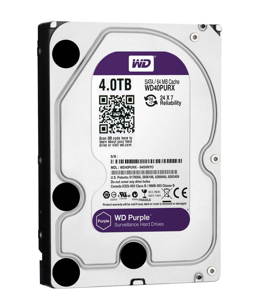 4TB Hard Disk SATA Surveillance (WD Purple / SEAGATE Skyhawk) - Security System Store