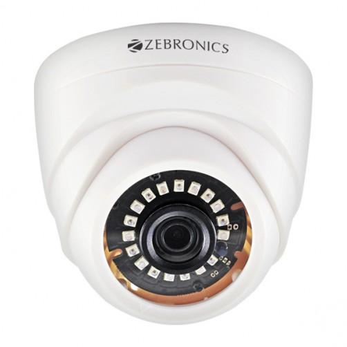 ZEBRONICS 1MP 4in1 HD CCTV Camera with Nightvision (DOME) - Security System Store