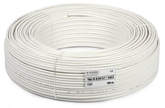 cctv camera wire cable 3 1 coxail 90mtr roll rh securitysystemstore in home cctv wiring diagram home cctv wiring diagram