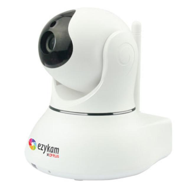 CPPLUS EZYKAM WiFi 1MP IR  Pan/Tilt IP Camera EPK-EP10L1 (EP10) - Security System Store