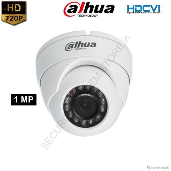 Dahua DH-HAC-HDW1100RP-S2 HD CCTV Camera (DOME) 1MP - Security System Store