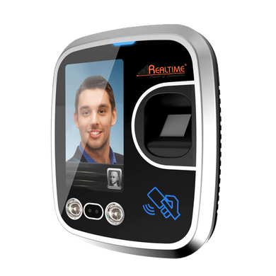 Realtime RS850 » Wifi Face ID With Finger Attendance Recorder