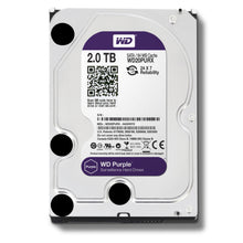 Load image into Gallery viewer, 2TB Hard Disk SATA Surveillance (WD Purple / SEAGATE Skyhawk) - Security System Store