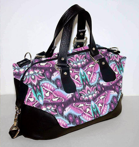 Brooklyn Handbag & NCW purse - Tula Pink atlas