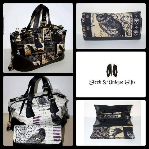 Brooklyn Handbag & NCW purse - Nevermore