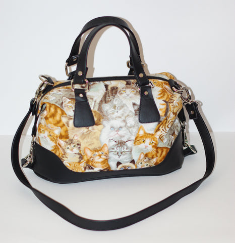 Brooklyn Handbag & NCW purse - Cats