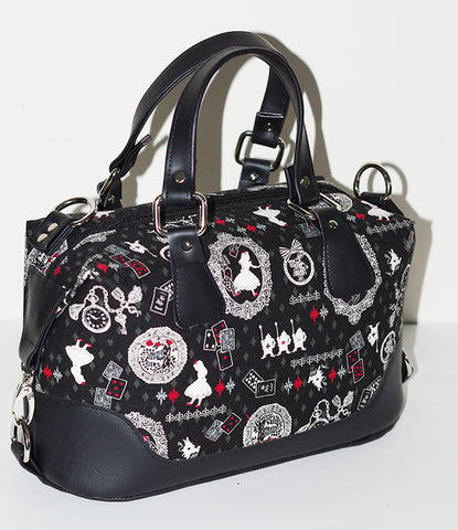 Brooklyn Handbag & NCW purse - Alice in wonderland