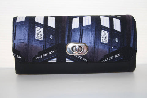 NCW - Doctor who necessary clutch wallet, womens wallet, purse