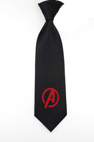 Avengers, superheroes necktie, mens skinny tie, geek wedding