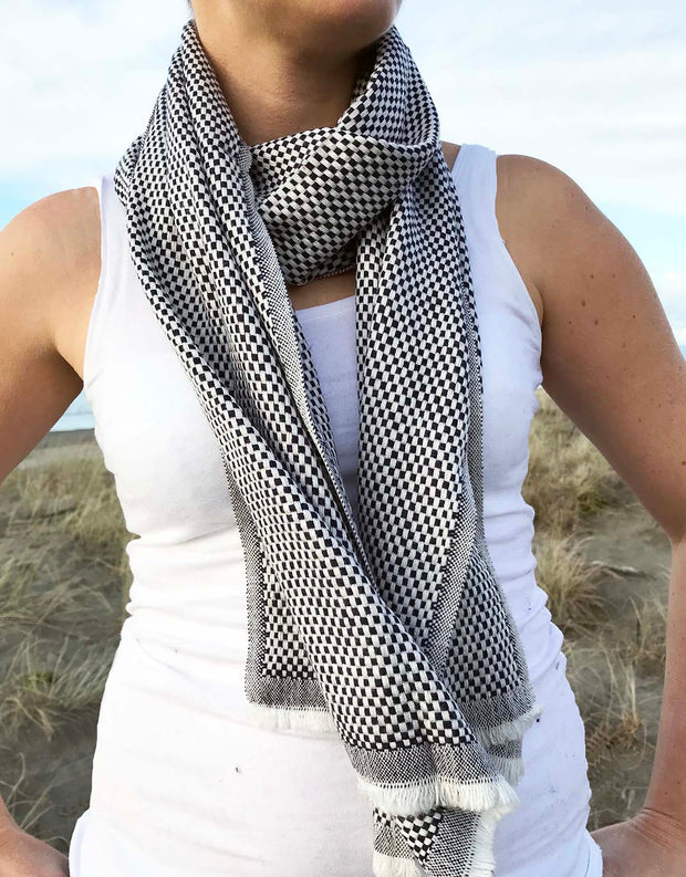 Handloomed Nepali Cashmere Scarf