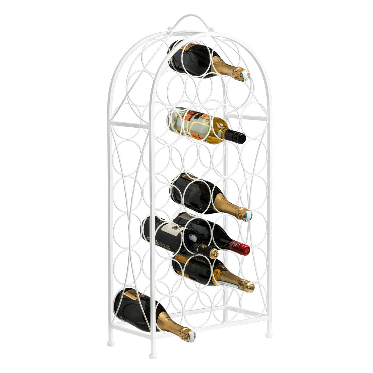 Cream Cafe Cassis Wine Rack (29 Bottles)