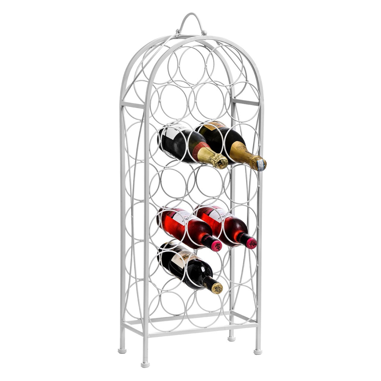 Cream Cafe Cassis Wine Rack (20 Bottles)