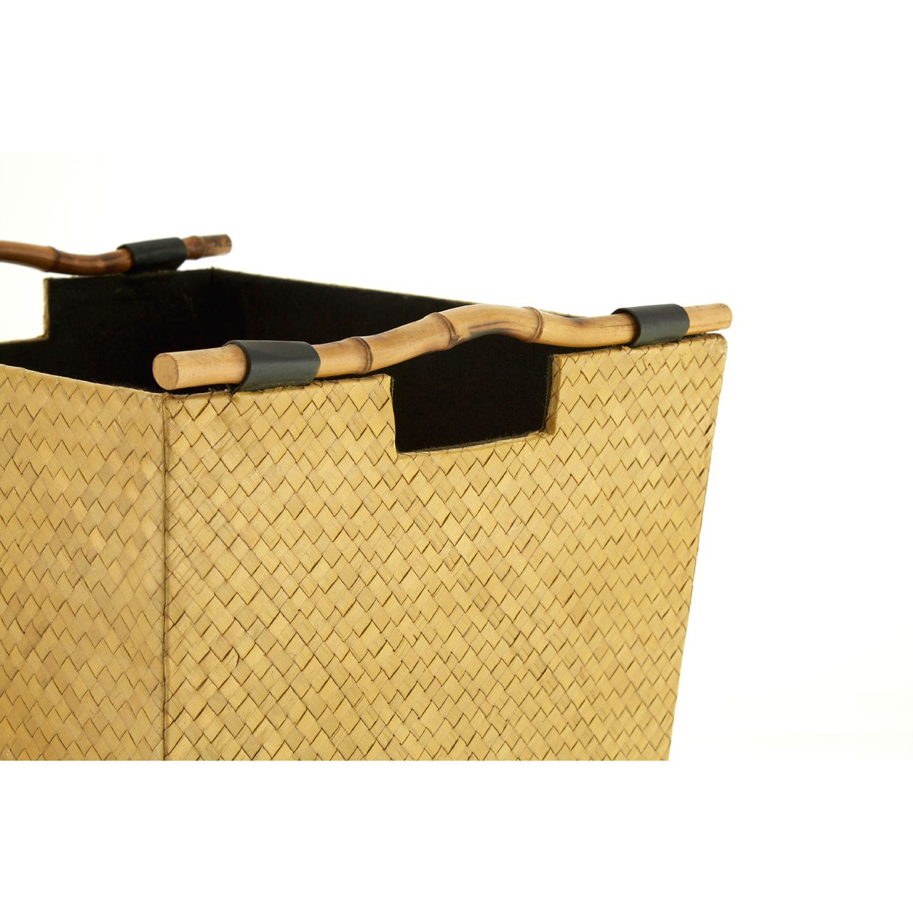 Pandanus Storage Baskets Handle