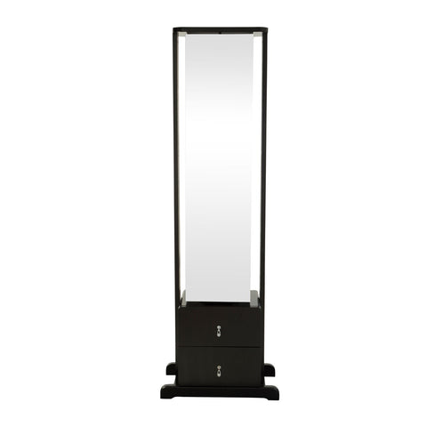 New York Loft Cheval Full Length Mirror (White)