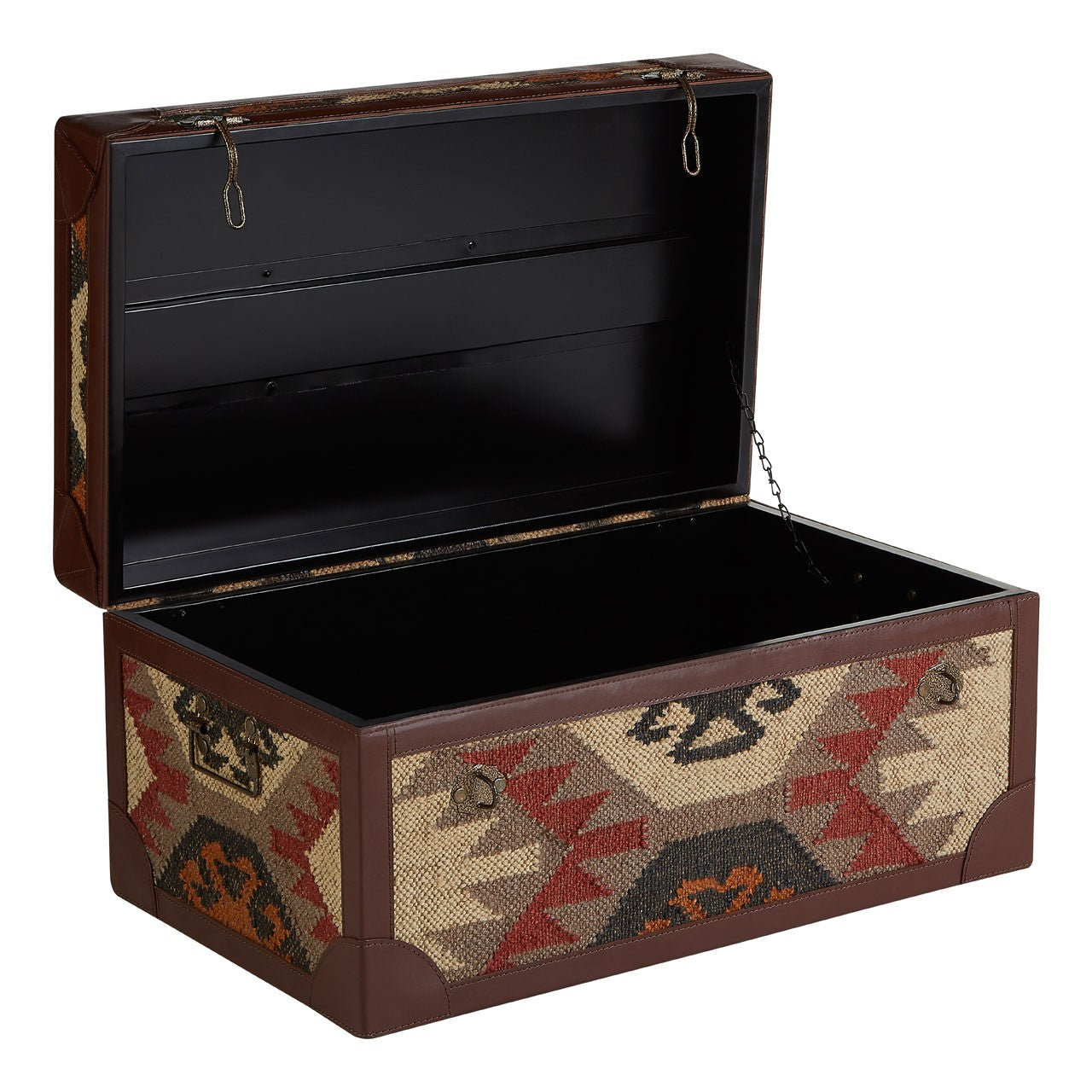 Multi Print Storage Trunks (Set of 2) Open