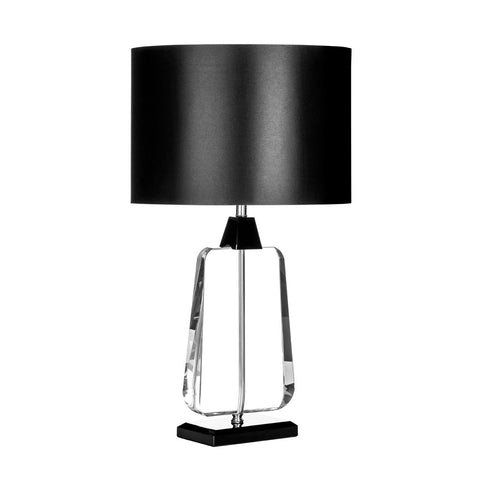 Industrial Bottle Table Lamp