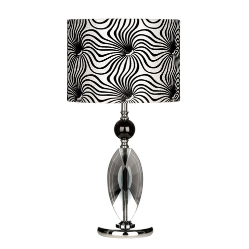 Azura Black and White Table Lamp