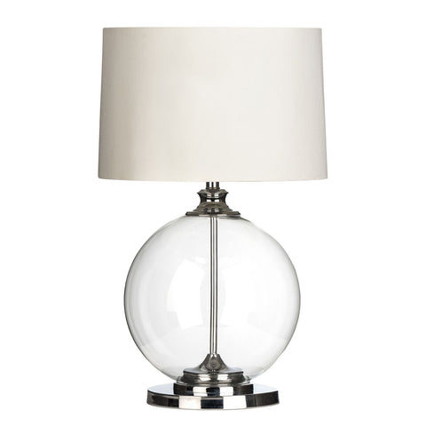 Grey Una Table Lamp
