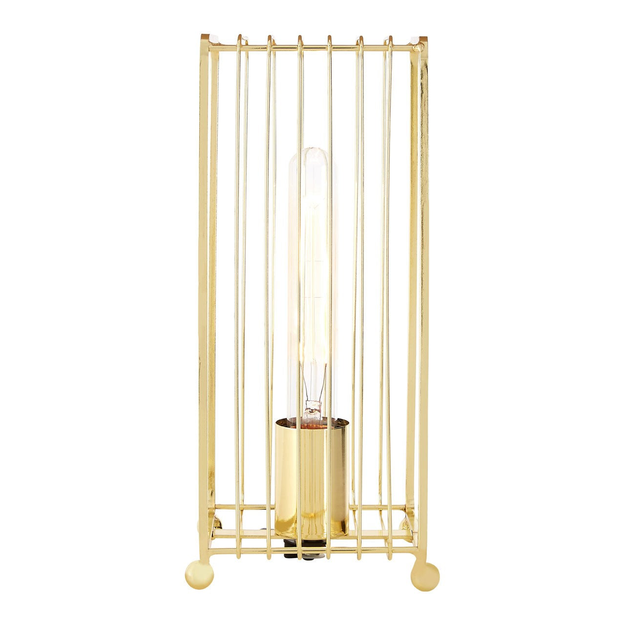 Deco Gold Finish Table Lamp