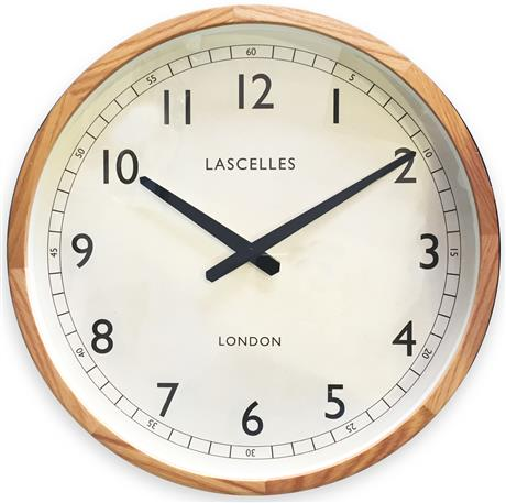 Roger Lascelles Wooden Oak Case Traditional Clock (41.5cm)