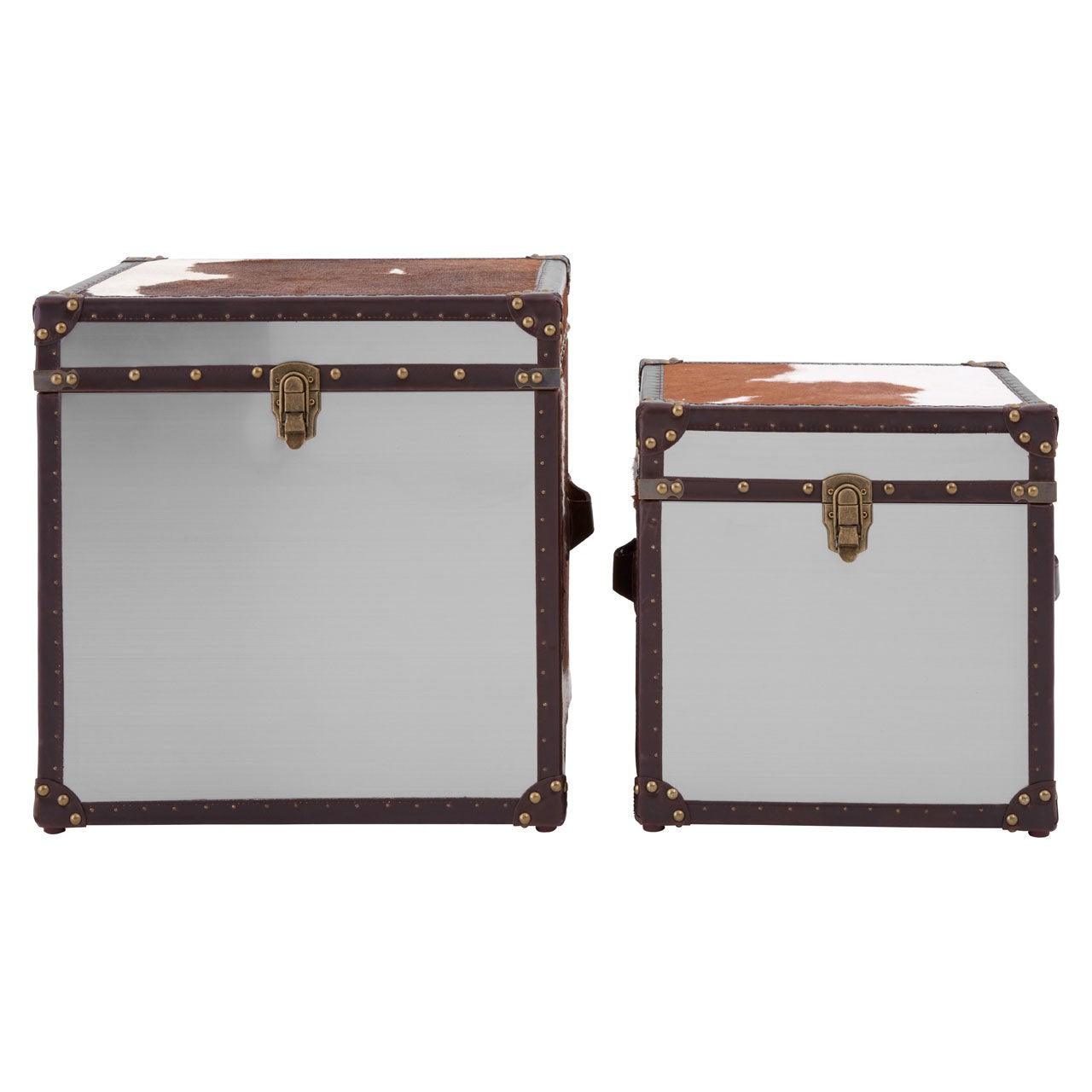Kensington Townhouse Storage Trunks (Set of 2) Front