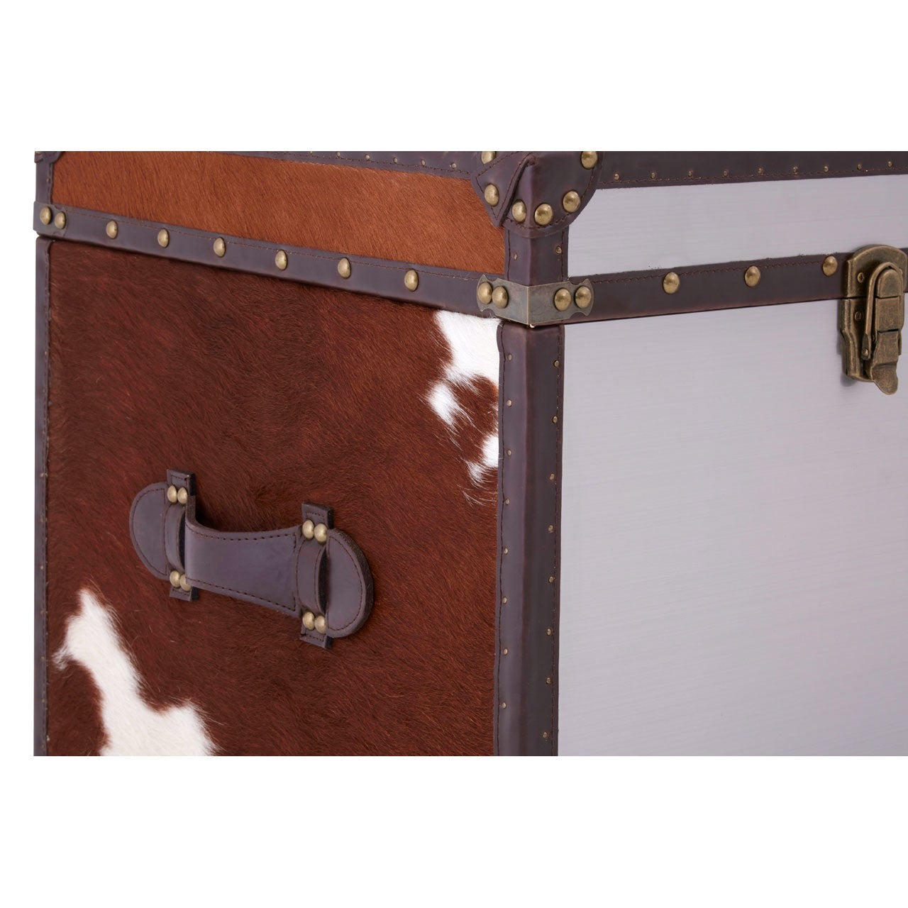 Kensington Townhouse Storage Trunks (Set of 2) Side