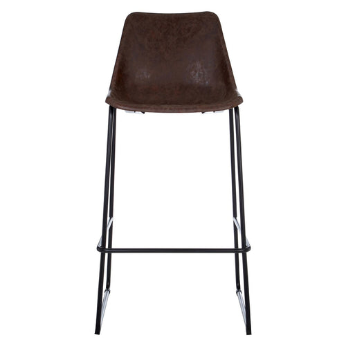 Dalston Vintage Bar Stool Front