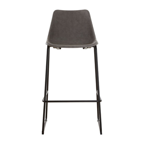 Dalston Vintage Ash Bar Stool Front