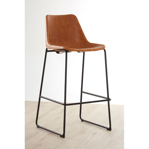 Dalston Bar Stool (Camel)