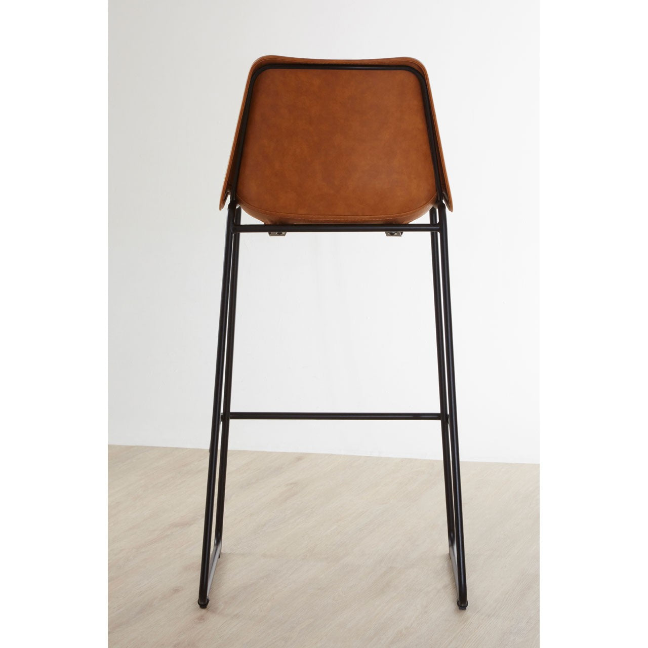 Dalston Bar Stool (Camel) - Back