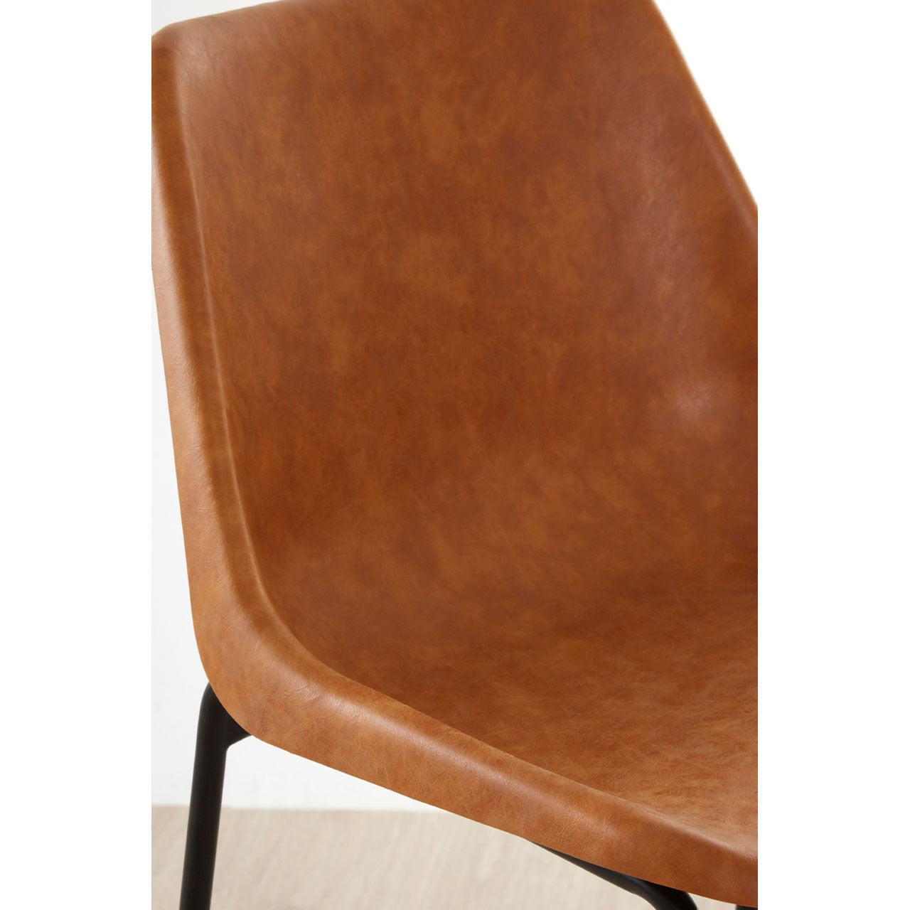Dalston Bar Stool (Camel) - Close
