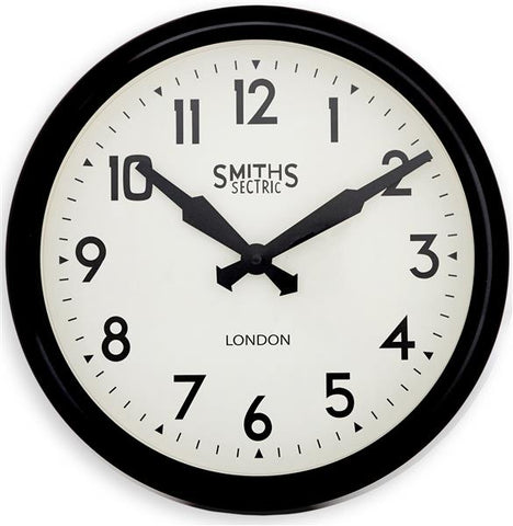 Roger Lascelles Rose Gold Smiths Modern Wall Clock (30cm)
