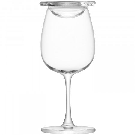 LSA International Islay Whisky Nosing Glass & Glass Cover (Set Of 2)