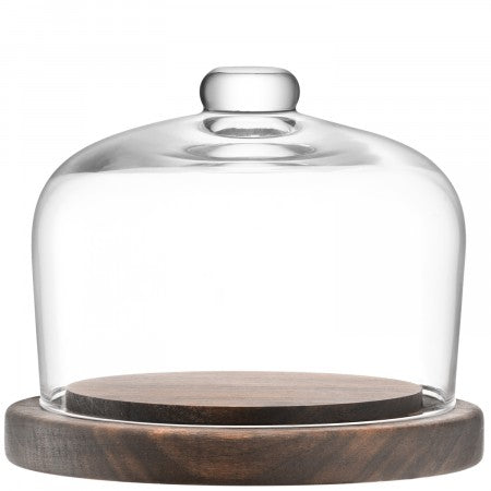 LSA International City Dome & Walnut Base - 13cm