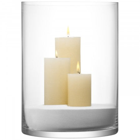 LSA International Vase/Candleholder 40x30cm Clear