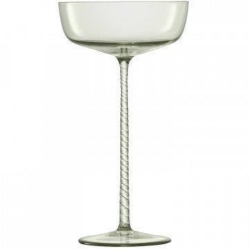 LSA International Champagne Theatre Saucer - Set of 2 190ml - Smoke Grey