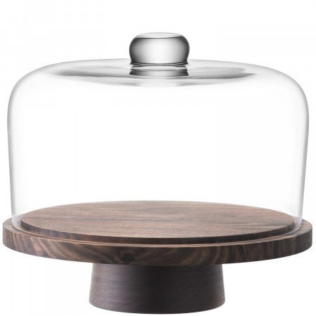 LSA International City Dome & Walnut Stand