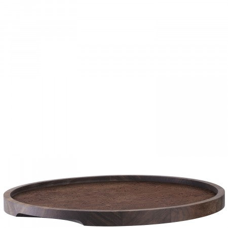 LSA International City Serving Tray - Walnut - 40cm