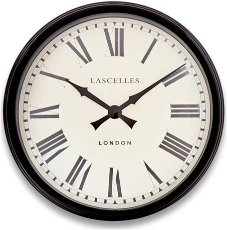 Metal Mantle Style Wall Clock