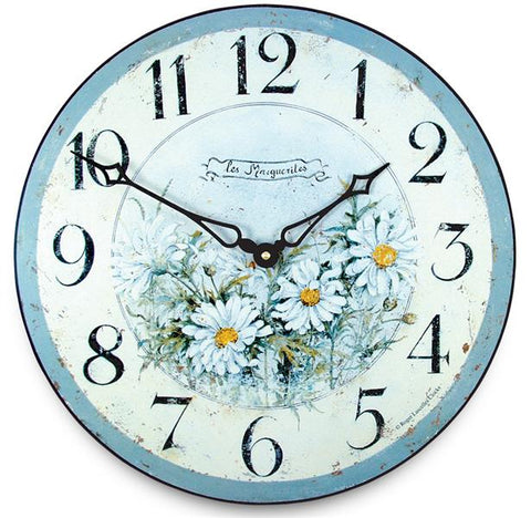Roger Lascelles Garden Fruits French Wall Clock (36cm)
