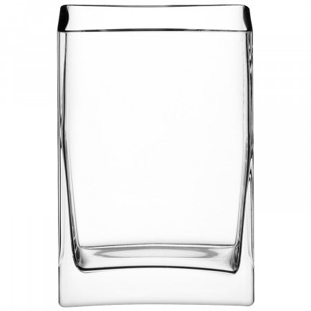 LSA International Rectangular Bunch Vase 22cm