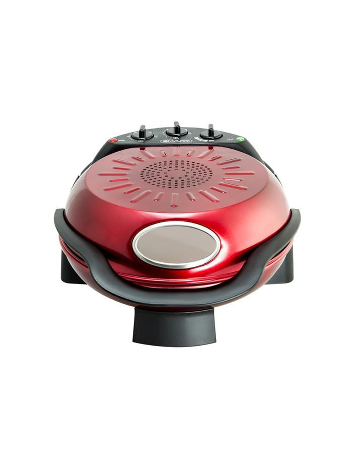 SMART Rotating Stone & Grill Pizza Oven (Red)