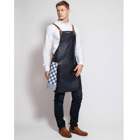 Stalwart Classic Leather Apron (Green)