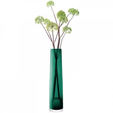 LSA International Giant Stem Vase - Marine Green