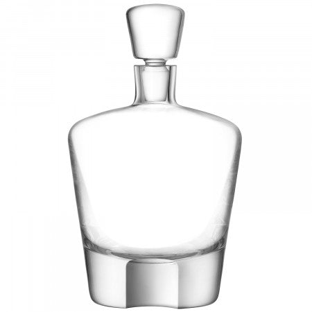 LSA International Whisky Cut Decanter - 0.9L