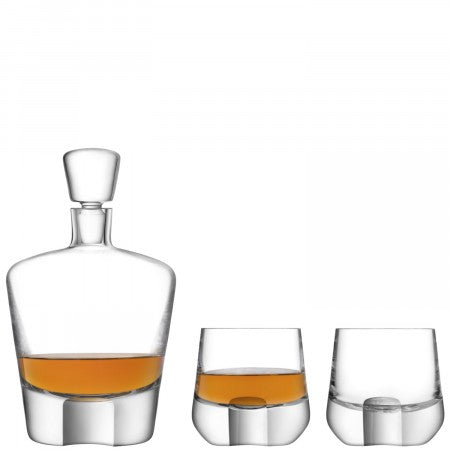 LSA International Whisky Cut Whisky Set Clear/Cut